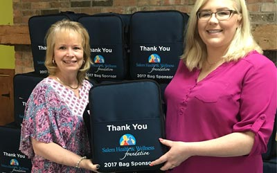 Salem Health & Wellness Foundation Funds New Thermal Bags