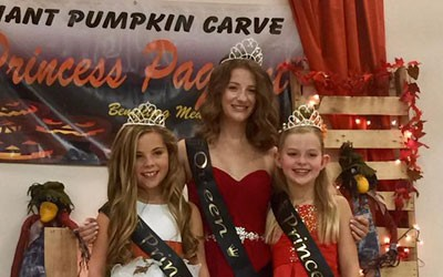 2017 Pumpkin Princess Pageant Winners