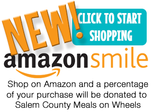 Shop with Amazon Smile to support Meals on Wheels of Salem County