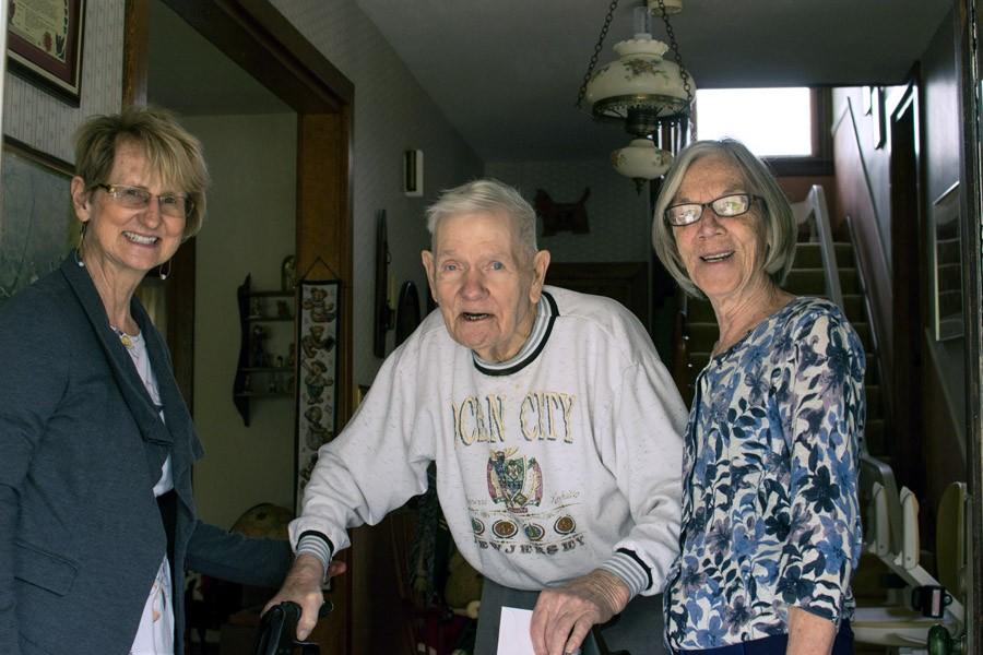 Susanne, Joyce & Nancy
