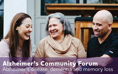 Alzheimer's Disease, Dementia and Memory Loss